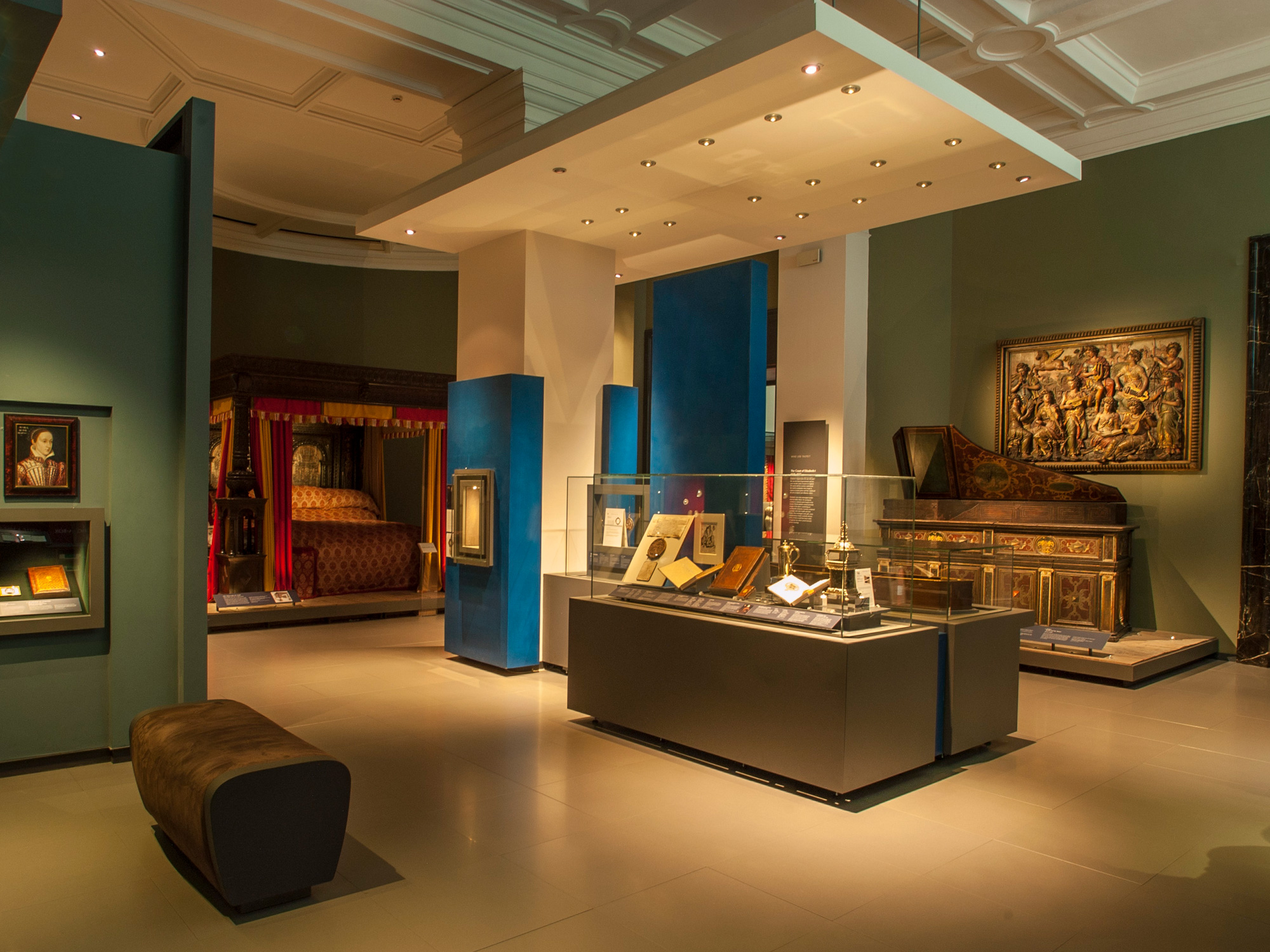 The Great Bed of Ware. British Galleries, Victoria & Albert Museum