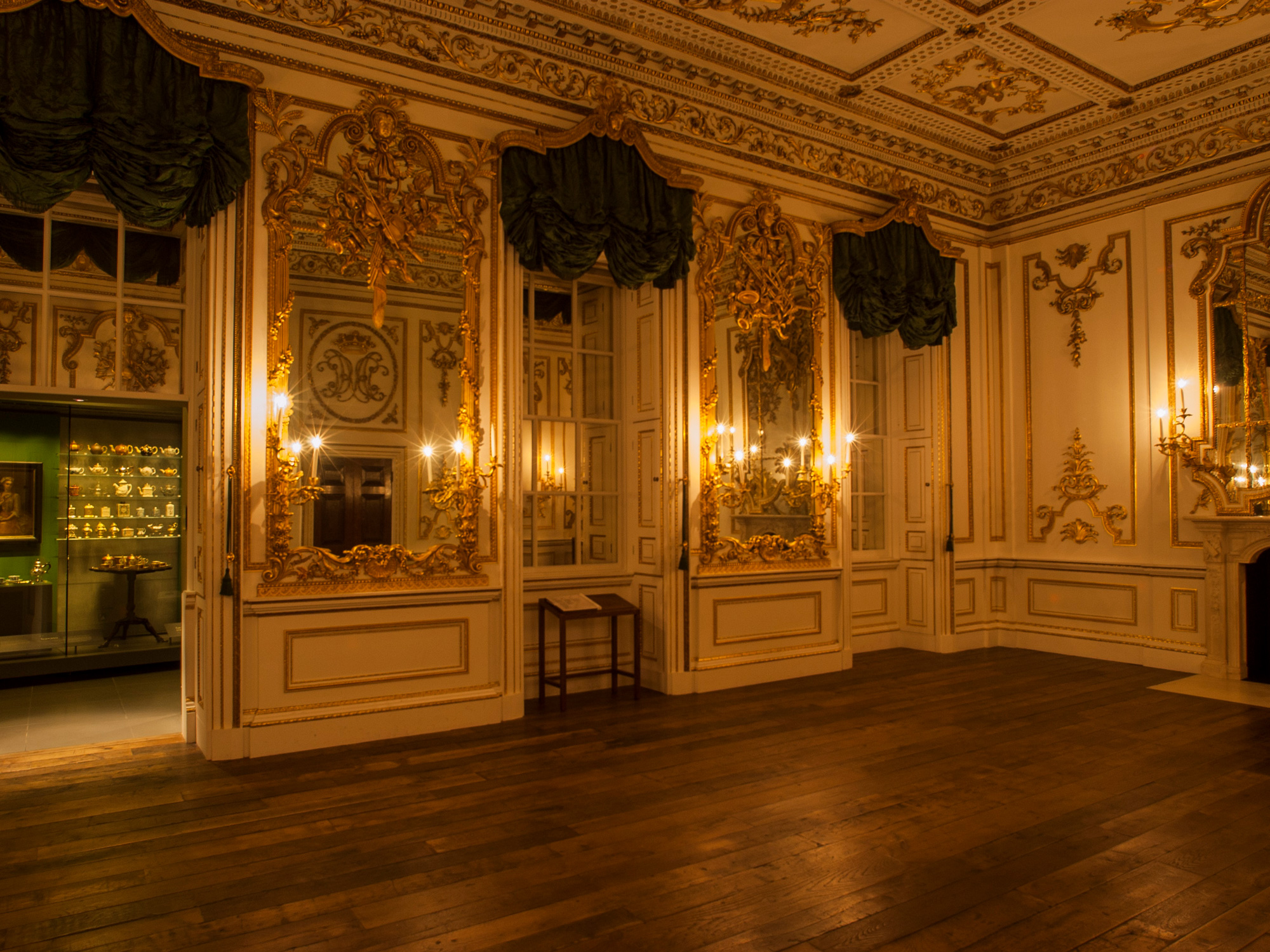 Norfolk House Music Room. British Galleries, Victoria & Albert Museum