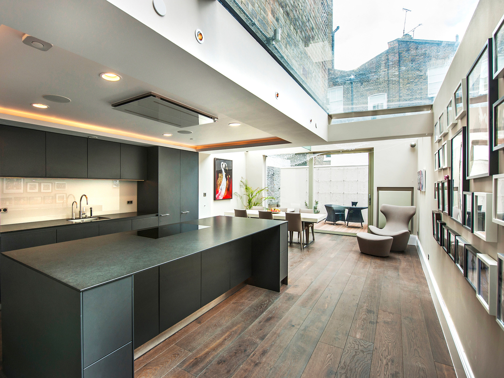 Private residence, London W8. By permission of Hogarth Architects.